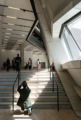 Genuflect (jonnydredge) Tags: london art stairs nikon tatemodern galleries herzogdemeuron switchhouse moderneccentrics