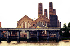 Greenwich Power Station (HoosierSands) Tags: london greenwich riverthames