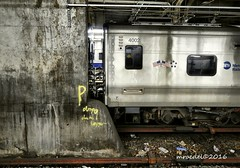 GCT (MROEDEL) Tags: roedel madridminer train nyc newyorkcity gct grandcentralterminal station tracks underground steel concrete dark noflash mta stainless litter