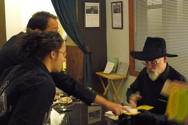 Z with Terry Pratchett