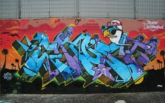 Calication (Darioghost) Tags: california sunset cali graffiti tag letters walls californication