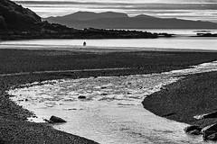 Huddle on the Beach (cotswoldman) Tags: blackandwhite seascape skye blancoynegro monochrome landscape mono scotland seaside highlands isleofskye noiretblanc scottish dunvegan scottishhighlands blancetnoir sleat isleofrum highlandsandislands tarskavaig lochsandglens gloucestercameraclub