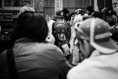 den den (Gerardo Silveyra) Tags: street black anime girl japan nikon cosplay streetphotography   nippon osaka namba     nikond300