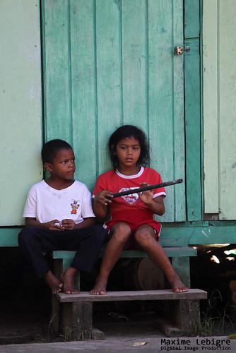 Niños de bocas del Toro - Panama