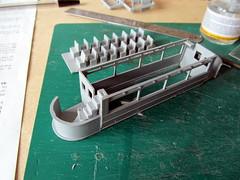 Tower Models E1 tram build (kingsway john) Tags: london tower scale construction transport models tram plastic kit build oo gauge e1 tramcar 176 lndon