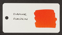 Diamine Pumpkin - Word Card