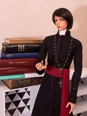 Priestly Benediction (SpicaNio) Tags: bronze doll box tan christian blessing opening bjd priest soom balljointeddoll antares mechaangel