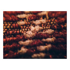 •autumn• (sasnashall) Tags: lighting autumn light red orange 6 brown white macro texture wool thread yellow contrast canon lens photography lights photo check nikon flickr pattern colours photographer cross photos object patterns sigma objects auburn professional pillow textures cotton photographs material editing tamron tones cushion checkered tone autumnal multi materials edit freelance sewn edits iphone checked threaded iphone6