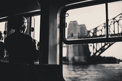 Window (williamspinto) Tags: camera old bridge autumn red sea portrait sky people bw woman cloud art luz window water look souls ferry lens landscape happy photography hope boat interesting nikon flickr moments fotografie sad dress sweet harbour retrato portait sydney creative liberdade australia scene snap best vermelho explore most blond rua moment solitary decisive felling bilding 2015 imponent removedfromstrobistpool nooffcameraflash seerule1