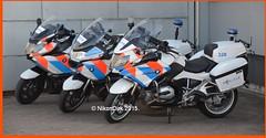 Dutch BMW K1600 and R1200 Bikes. (NikonDirk) Tags: camera holland netherlands dutch mercedes benz rotterdam foto cops traffic cam helmet nederland police cop infrastructure bmw motorcy