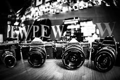 I shoot things PEW PEW PEW (MakeLifeMemorable) Tags: lightpainting 16mmfisheye emilylowrey sonya7 iphonelightpaintingapp