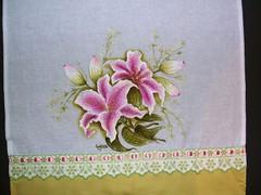 orquidia pano de prato 1 (LID ARTS) Tags: de em prato panos pintura tecido