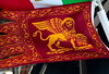 Venice 2014 (Richard Mills) Tags: flag banner stmark wingedlion venicegallery2