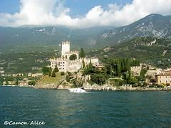 castello di Malcesine (pinkystar_84) Tags: tower castle torre verona castello medievale malcesine lagodigarda veneto