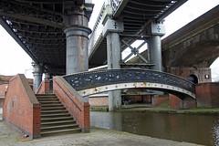 Bridges (Neil Pulling) Tags: city uk bridge england industry manchester canal europe bridges viaduct castlefield castlefieldmanchester