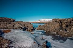Rocky Pass (DLDstudio) Tags: ocean blue winter sea sky cold ice landscape frozen iceland nikon rocks day skies north freezing rocky sunny wideangle reykjavik clear nordic fullframe d610