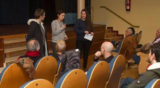 María Ruido en la Filmoteca de La Rioja