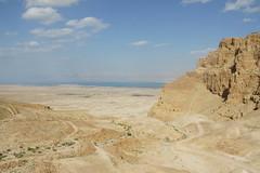 Desert of Judea and Masada, Israel, March 2015