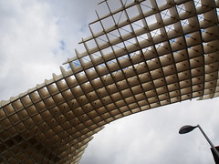 Metropol Parasol, Seville, Spain (ChihPing) Tags: travel sevilla spain olympus seville andalucia parasol metropol omd   em5   metropolparasol