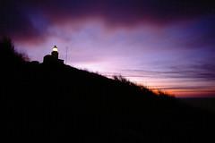 Lighthouse, Kullaberg 2015.02.06 (magnus.joensson) Tags: zeiss sunrise skåne fuji sweden contax velvia filter g2 warming exp 21mm kullaberg biogon iso50 16sec 81a exp2006