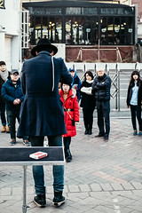 Hongdae_20150201 at 17-04-51_Edit.jpg (Kim Jaehoon) Tags: street city winter outdoors photography day citylife korea event card seoul rearview southkorea groupofpeople adultsonly crowded magician youngwomen youngmen colorimage koreanethnicity artistsontumblr photographersontumblr originalphotographers