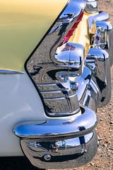 '55 Buick (oreofuzz) Tags: detail car oregon nikon bumper chrome restoration salem oldcar d610 55buick