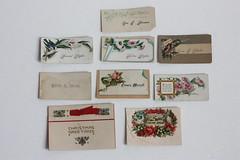 Vintage Calling Cards (myvintagewhimsy) Tags: vintage etsy callingcards vintageephemera