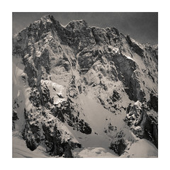 Souvenir... (Yvan LEMEUR) Tags: blackandwhite bw mountain france nature montagne alpes noiretblanc nb glacier neige paysage chamonix montblanc glace alpinisme hautesavoie ext grandesjorasses massifdumontblanc facenord glacierdeleschaux pointewhymper pointewalker pointecroz