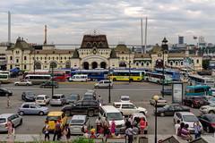 Vladivostok (Alexxx1979) Tags: city summer russia august railwaystation vladivostok 2015 город россия лето вокзал владивосток август primorskykrai приморскийкрай