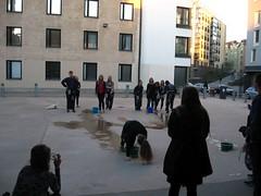 studentfun (Kola-apsa) Tags: students fun bucket bottle peeing