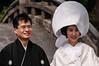 Japanese bride and groom (TheSpaceWalker) Tags: history japan photography japanese groom bride photo nikon kamakura pic tradition kanagawa japanesewedding jpn d300 tsurugaokahachimangu goldenweek thespacewalker