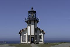 Cabrillo Pt. Lighthouse (dcnelson1898) Tags: california northerncalifornia outdoors photography coast nikon highway1 pacificocean mendocinocounty pointcabrillolighthouse