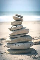 Stones III (Benjamin Merceron) Tags: ocean sea summer mer beach landscape 50mm sand nikon rocks stones sable pierres t paysage plage d5200