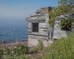 fish shack Lake Superior North Shore -10 ExplortionVacation 20150809-DSC_6145 (The Travel Gal's Exploration Vacation) Tags: minnesota northshore fishshack lakesuperior ruins