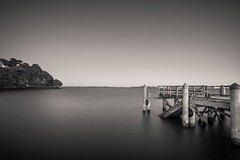 Mind The Gap (duncan_mclean) Tags: longexposure bw monochrome mono pier bandw northhead devonport auckand leefilters torpedobay bigstopperblackandwhite