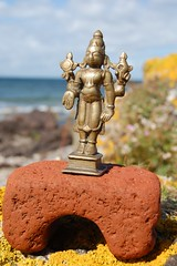 Vishnu - Hindu God. (TREASURES OF WISDOM) Tags: sculpture whatisthis love look statue mystery museum bronze wow wonderful religious nice nikon worship shrine vishnu view god folk spirit quality yes magic faith prayer like visit collection idol figure sacred offering unknown ritual unusual vibes spirituality wisdom om spiritual hindu artifact healing hinduism item brilliant puja deity shamanic mystic votive pagan artefact unseen asianart mythical murti tribalart ancientworld southindian intresting thebestof godofwisdom indianbronze hindusaint indianbronzes