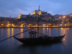 Porto nights (Carlos ZGZ) Tags: city blue sunset wallpaper portugal water rio azul skyline night river boat agua barco ship waterfront outdoor dusk postcard bleu porto creativecommons douro vehicle postal puestadesol bateau 2d oporto coucherdesoleil bote fleuve vehicule vehiculo duero cartepostale fondodepantalla ccby freepictures openlicense freeculturalworks carloszgz cmstoolsphotoring myfavnew