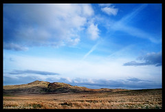 scottish saltire sky (Calamity Jade) Tags: sky scotland landscapes scottish hills hillwalking scottishflag scottishlandscape luckycapture scottishlandscapes scottishphotographer scotlandsaltire