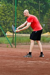 Henrik Wester 2012-06-09 (Michael Erhardsson) Tags: juni tennis serving henrik 2012 serve htk wester tvling hallsberg hallsbergstrffen