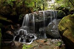 Weeping Rock 2 (Darren Schiller) Tags: longexposure green water waterfall rocks bluemountains cascade leura weepingrock