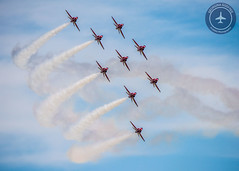 The Red Arrows (GeorginaGodfree) Tags: blue red portrait white season photography photo team day photographer force display photos smoke air jets go jet may royal first airshow arrows premiere shuttleworth 8th raf teamwork aerobatic aerobatics georgina on the 2016 godfree