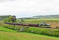 Koyli at Eardington. (curly42) Tags: transport railway napier svr severnvalleyrailway deltic class55 koyli 55002 thekingsownyorkshirelightinfantry preserveddiesel d9002 svrdieselgala2016