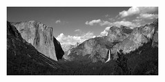 Tunnel View, Yosemite National Park (Joe Franklin Photography) Tags: blackandwhite bw nationalpark yosemite yosemitenationalpark elcapitan bridalveilfalls yosemitevalley tunnelview