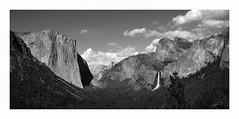 Tunnel View, Yosemite National Park (Joe Franklin Photography) Tags: blackandwhite bw nationalpark yosemite yosemitenationalpark elcapitan bridalveilfalls yosemitevalley tunnelview