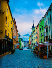 DSC_0028 (j.r- photography1) Tags: road street camera new blue summer sky storm alps colour building water lines skyline architecture contrast outside austria nikon europe downtown outdoor may sigma depthoffield serene amateur depth hdr villiage rattenberg d3200