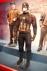 Marvel Harajuku Popup Store: Captain America's Costume in Civil War (Dick Thomas Johnson) Tags: fashion japan tokyo costume outfit shibuya civilwar harajuku   wardrobe  marvel captainamerica avengers   chrisevans steverogers hottoys   toysapiens   captainamericacivilwar  marvel  marvelharajukupopupstore