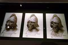 Concept art for the aging of the knight (rhombitruncated) Tags: archaeology dc indianajones nationalgeographic 2016 nationalgeographicmuseum