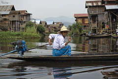 Mingalaba (Karnevil) Tags: hello houses people lake man fisherman nikon asia burma longboat myanmar inlelake picturesque shanstate floatingvillage d610 serenely shallowlake mingalaba inlaylake shanhills fotoartistry taunggyidistrict nyaungshwetownship petekrepsphotography