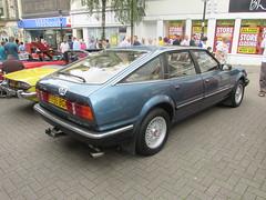 Rover 3500 Vanden Plas B998BGF (Andrew 2.8i) Tags: rover v8 3500 sd1 sdi vanden plas classic executive car coracle run bracelet bay swansea carmarthen classics vintage blue