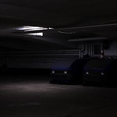 (matthiaswerner) Tags: underground parking hamburg lot untergrund parkhaus